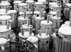 3952558040_7b8be9bd86 (traffic light1 [Brian]) Tags: blackandwhite alaska unitedstates transformer ak equipment skagway transformers nik electrical