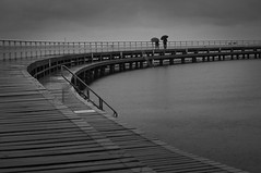 Time Goes By (Ranga 1) Tags: ocean sea beach water rain pier nikon australian australia victoria baths geelong easternbeach davidyoung seabaths seabath flickraward afsnikkor50mm14g flickraward5 flickrawardgallery ringexcellence
