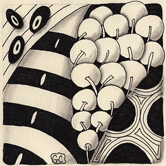 Weekly Challenge 50 (Amaryllis Creations) Tags: penink zentangle