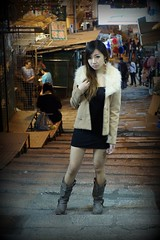 _DSC9413 (rickytanghkg) Tags: light portrait woman girl lady female night asian evening model pretty outdoor low chinese young dim picnik