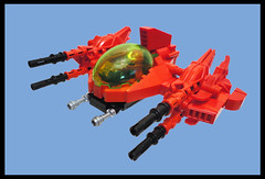 ZF-9 red CHIBIDRAGON (nate_decastro) Tags: lego space chibi scifi moc starfighter