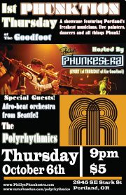 1st Thursday Phunktion @ The Goodfoot
