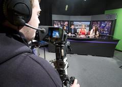 Wake Up Whitewater (UWW ResNet) Tags: news uw television tv stage program anchor uww uwwtv