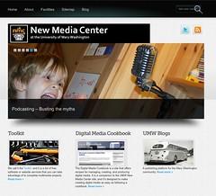New Media Center Home