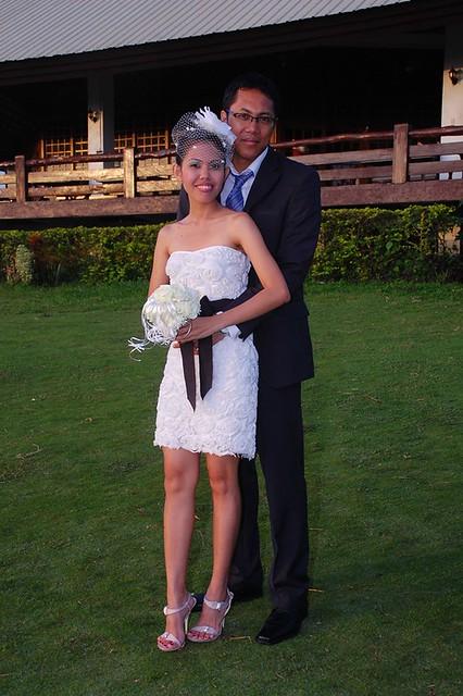 short summer wedding dress