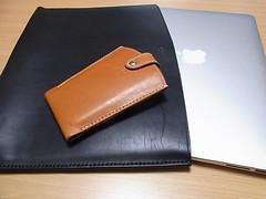 MacBookAirケースとiPhoneケース