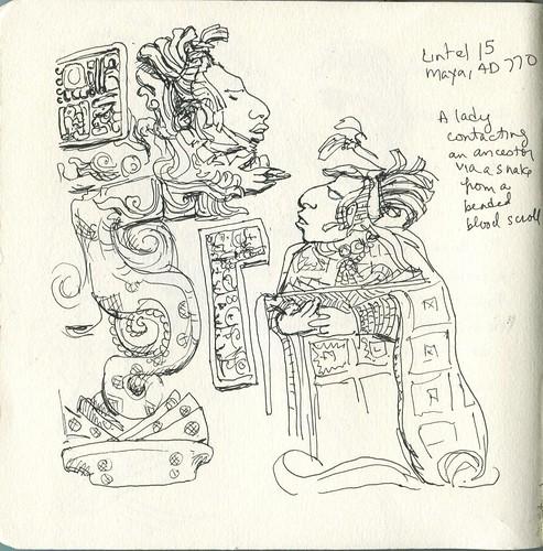 British Museum sketch