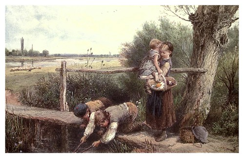 008-jovenes pescadores- Birket Foster-The old Water-Colour Society-1905-Charles Holme
