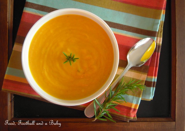 Squash and Garlic Soup