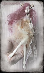 LIGHTPAINTED DOLL- Tatyana on my hand (cureilona of Lightpainted Doll) Tags: sculpture woman art mannequin girl female marina ball miniature doll artist dolls handmade feminine hans bisque mini tiny bjd collectible custom ilona lidia porcelain joint collectable automata bellmer joints sculpting porcelaindoll sculpt artistdoll ooakdoll balljointeddolls snul bychkova customisable porcelainbjd porcelainballjointeddoll jurgiel lightpainteddoll marthaarmstronghand