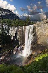 Vernal Falls (NaturalImagesPhoto) Tags: california cliff water rainbow hike falls yosemite granite vernal steep waterfll naturalimagesphoto calebgarvin