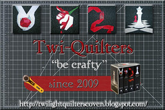 Twi-Quilters Button