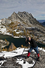 Photographer in Enchantments