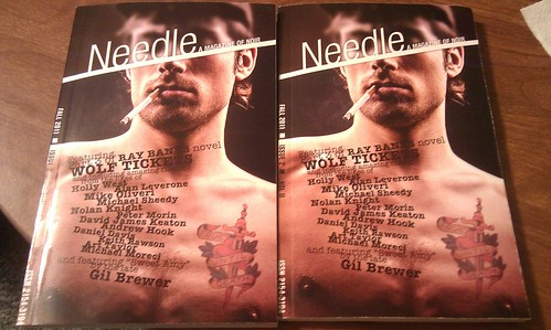 Needle Mag, hot off the presses