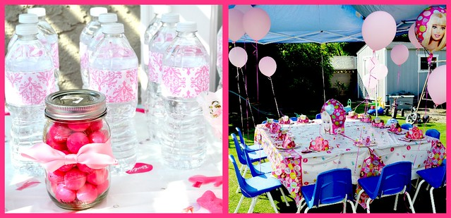 Gracie's Birthday Tables