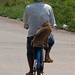 Riding with Monkey