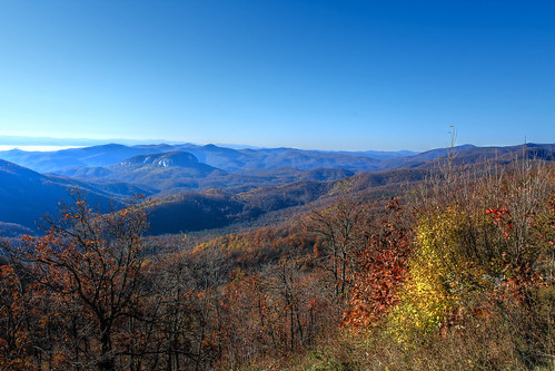 upon the Blue Ridge Mountains, is where I took my stand