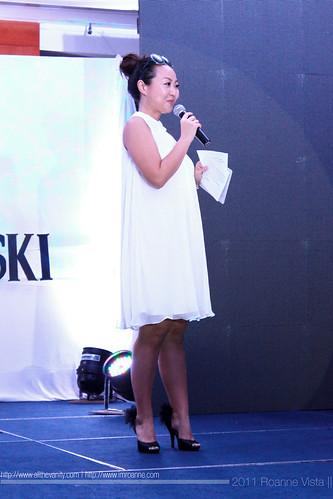 Sam Oh - Swarovski Eye Wear Launch