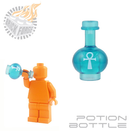 Potion Bottle - Trans Light Blue (Mana)