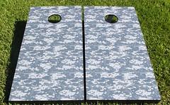 Digital Camouflage Cornhole Boards