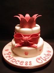 CH DE PANELA/BABY SHOWER (fati dream cakes) Tags: pink baby girl de shower princess rosa bow crown princesa coroa bb ch panela laco