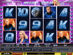 free Fantastic Four free spins
