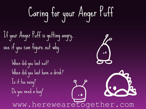Caring for your Anger Puff
