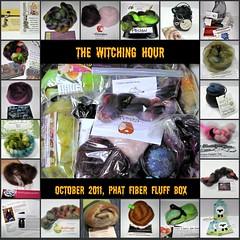 October 2011 Phat Fiber Fluff Box