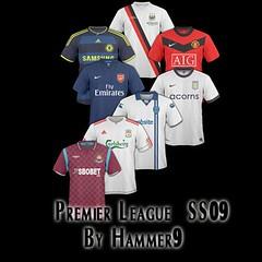 FM2012 Premier League Kits SS