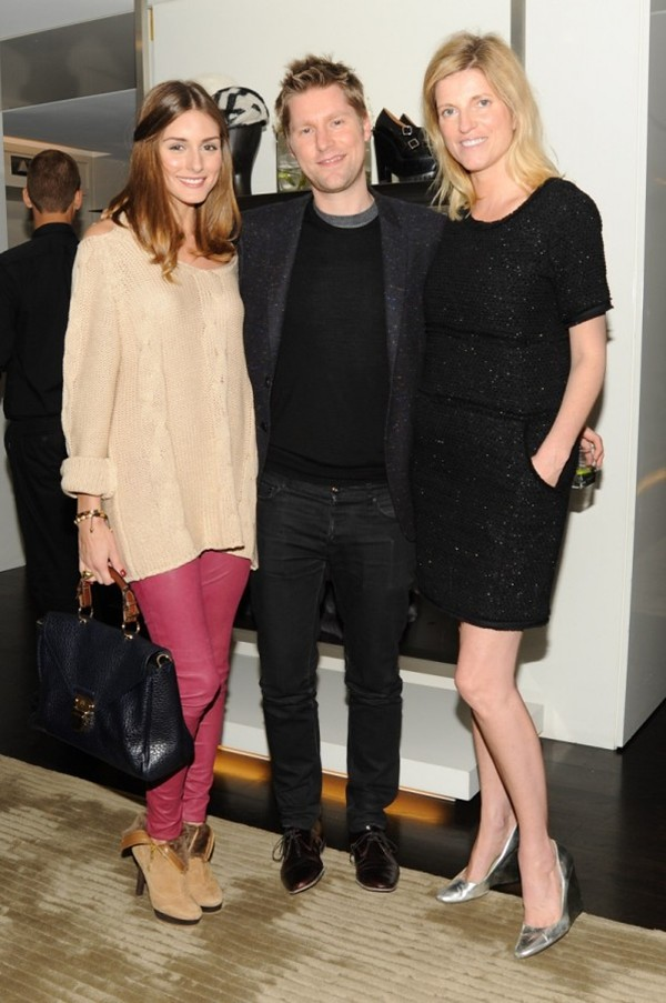 2 British Afternoon tea-Olivia Palermo Christopher Bailey Lucy Sykes Rellie