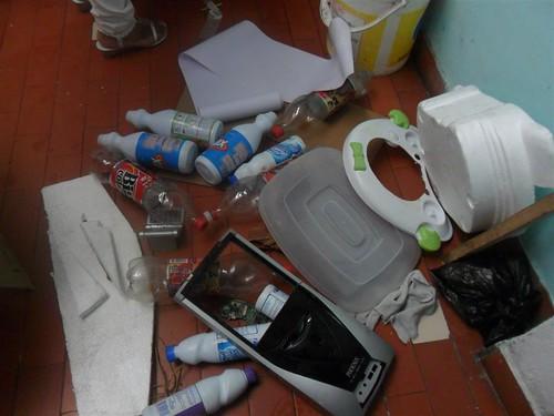 disfraces de resiclaje