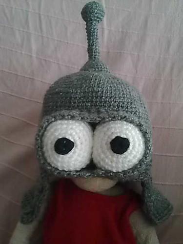 A Bender hat by Eme_Jota