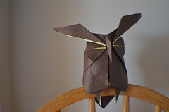 Komatsu Hideo - Owl (pharmjod) Tags: origami owl kawahata deluxewashi