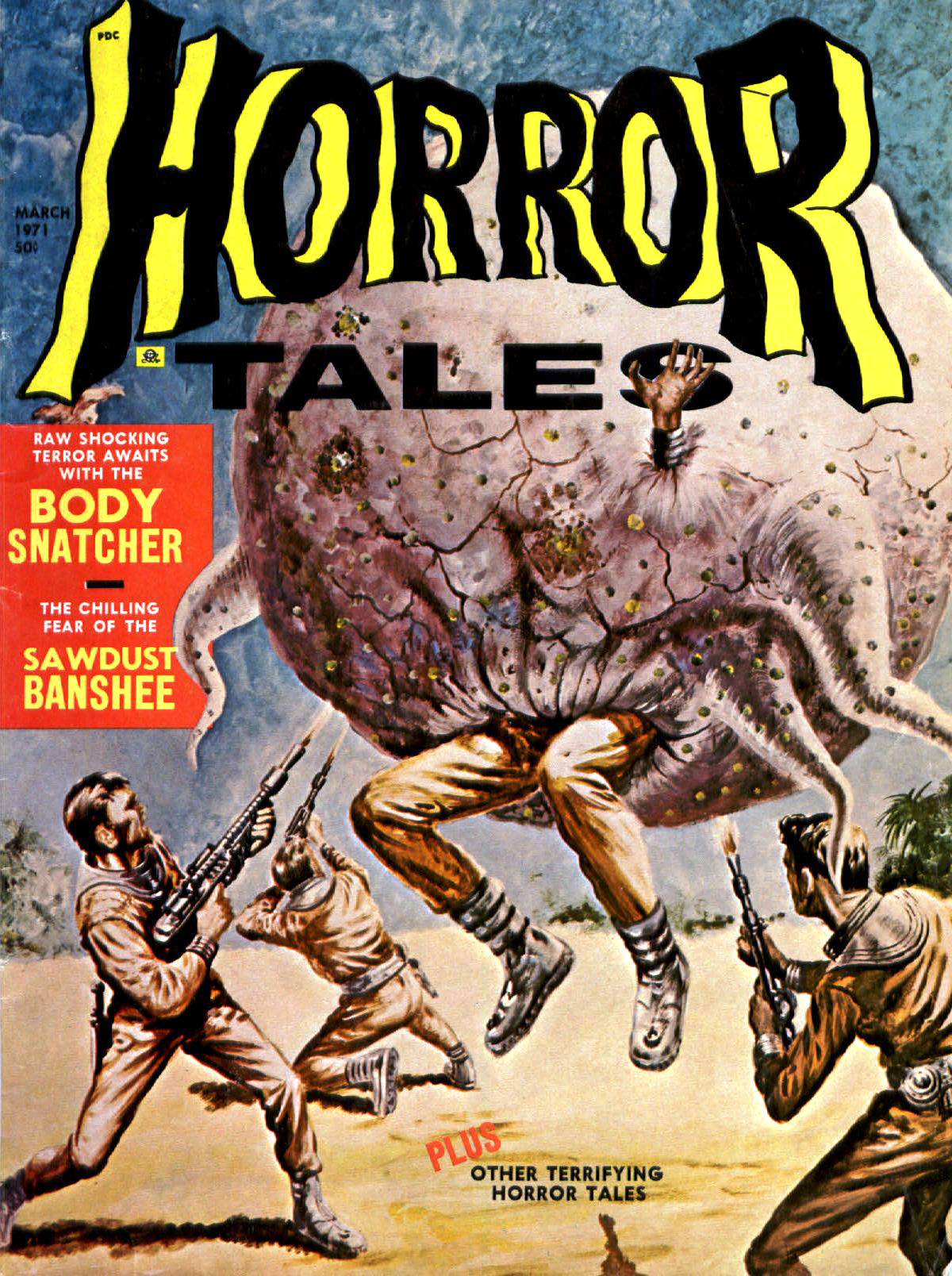Horror Tales - Vol.3 #2 (Eerie Publications, 1971)