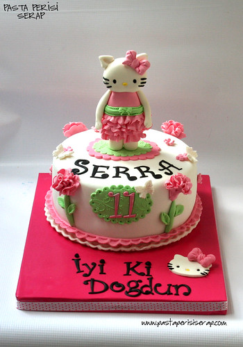 Hello kitty cake- Serra