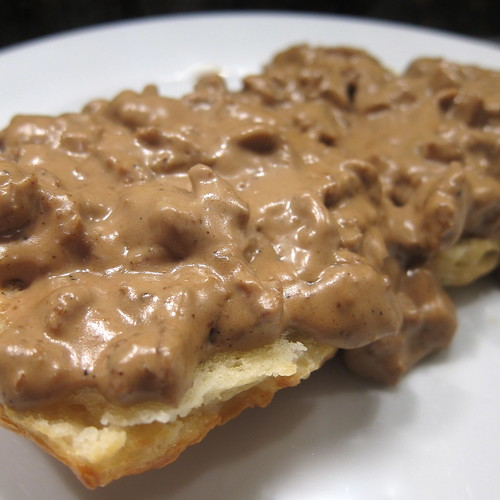 Biscuits with Sausage & Coffee Gravy