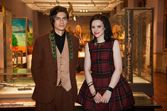 Omar & Amy Macdonald (Zul Bhatia1) Tags: uk museum scotland october unitedkingdom events scottish style event zul awards omar kelvingrove bhatia 2011 amymacdonald zulbhatia zulbhatiacopyright