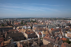 Strasbourg from the Cathedral (Look me Luck Photography) Tags: france church downtown cathedral roofs strasbourg paysage hdr hdrimage frstrasbourg httplookmeluck500pxcom httplookmeluckcom