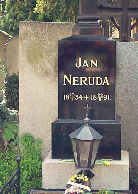 Jan Neruda's grave