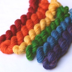 Yarn Kits and Mini Skeins (click for prices)