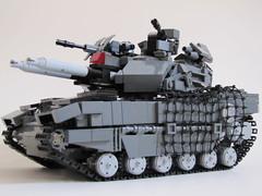Cerberus MK I MBT (Andreas) Tags: tank lego battletank legotank powerfunctions remotecontrolledlegotank legombttank