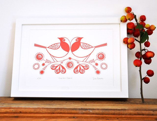 Rose Hip Robins