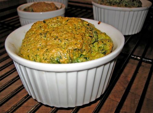 soufflé con spinaci e gamberi by fugzu