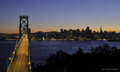 City by the Bay (ProudPinoy) Tags: sanfrancisco bridge fog skyline canon landscape twilight nikon cityscape nightscape sfo sony explore goldengate manila bayarea lighttrails bluehour noypi pinoy tagalog goldenhour fineartphotography a77 dlsr oaklandbaybridge peterlik popphoto foggycity d3x jasonsalgado