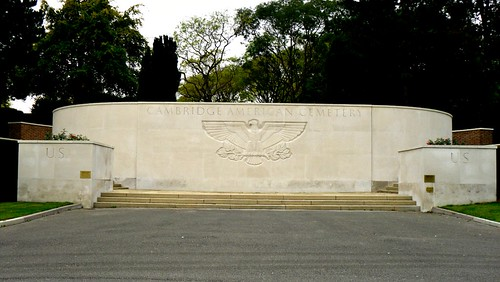 North Entrance to US War Cemetery, Cambridge