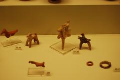 Mycenae museum (konde) Tags: greece figurine mycenae animalfigurines museumofmycenae