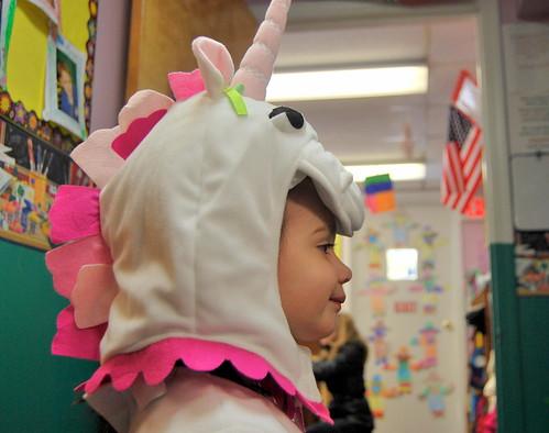 Madeline in Unicorn Costume