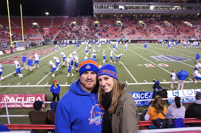 At a Boise State game
