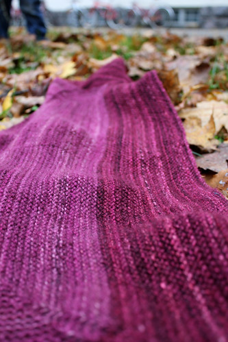 Handspun shawl