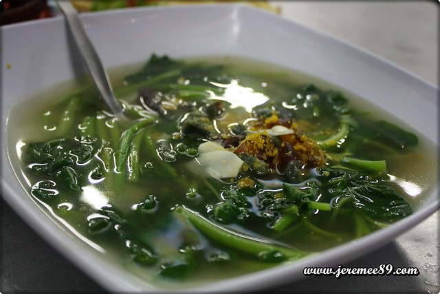 Zealand Nite @ Gurney Drive - Spinach With Salted & Century Egg
